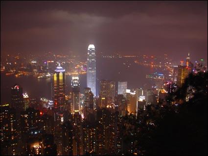 hongkong's night